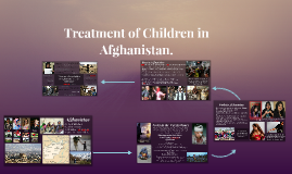 Treatment of Children in Afghanistan.