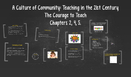 A Culture of Community: Teaching in the 21st Century
