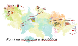 Copy of Roma da monarchia a repubblica