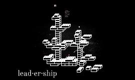 lead·er·ship