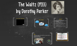 The Waltz by Dorothy Parker