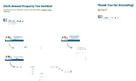 Property Tax Seminar 2015 - GR