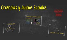 Creencias y Juicios Sociales