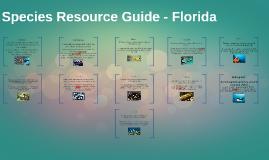 Species Resource Guide