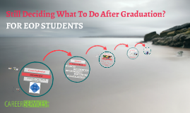 Jo Ann 4.18.18 EOP: Still Deciding What To Do After Graduation?
