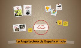 La Arquitectura de España y India
