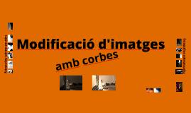 Modificació d'imatges amb corbes