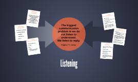 Listening (CH 9)