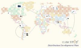 Distribution Development Plan