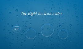 The Right to clean water