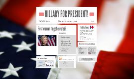 HILLARY FOR PRESIDENT!