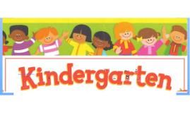 Kindergarten Back to School Night 2012