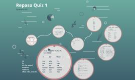 Repaso Quiz 1