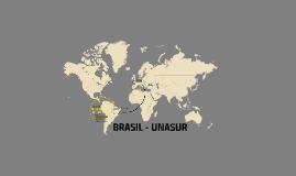 BRASIL - UNASUR