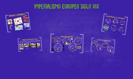IMPERIALISMO EUROPEO SIGLO XIX