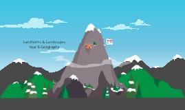 Copy of Landscapes & Landforms