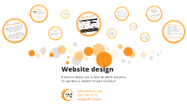 Website design - do you have a website?