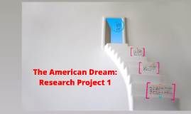 AP English American Dream Research Project 1