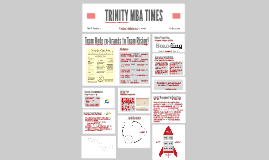 TRINITY MBA TIMES