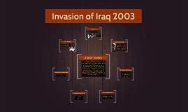 Invasion of Iraq 2003
