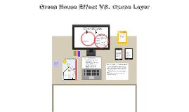 Copy of Greenhouse effect VS Ozone Layer