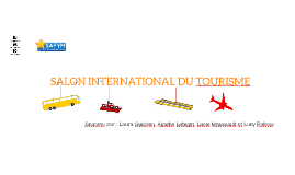 SALON INTERNATIONAL DU TOURISME DE NANTES 2016