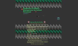 Response to Diabetic Emergencies for School Personnel