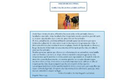 TALLER DE LECTURA: ESPECTACULOS POCO EDUCATIVOS.
