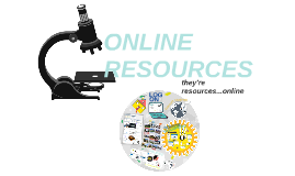 Copy of ONLINE RESOURCES