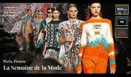 La Semaine de la Mode