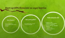 Start-up OPG Kovačević za uzgoj kopriva