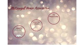McDougall House Association