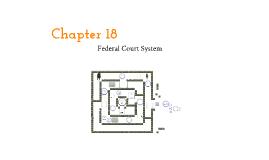 Chapter 18 Judiciary