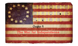 Copy of Chapter 4:  The War for Independence
