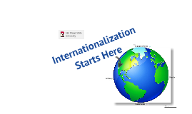 Internationalization Starts Here