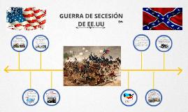 Copy of Copy of Linea de tiempo de la guerra de secesion de EEUU
