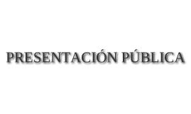 PRESENTACIÓN PÚBLICA SPA