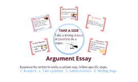 Copy of Argument Essay