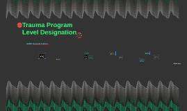 Trauma Program Level Designation
