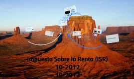 ISR aplicación práctica