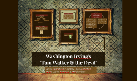 Copy of Washington Irving's