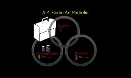 A.P. Studio Art Portfolio Description