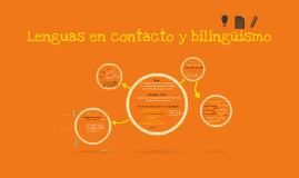 Lenguas en contacto y bilinguismo