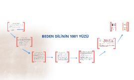 BEDEN DİLİNİN 1001 YÜZÜ