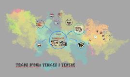 Temps d'oci: termes i teatre
