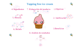 """""""Topping free ice cream"""""""