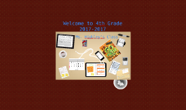 Copy of Copy of Welcome to 5th Grade