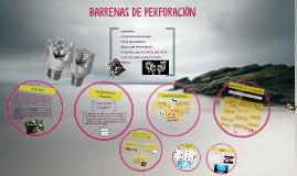 Copy of BARRENAS DE PERFORACIÓN