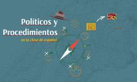 Políticos y Procedimientos