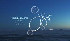 ELFH 710 - Survey Research